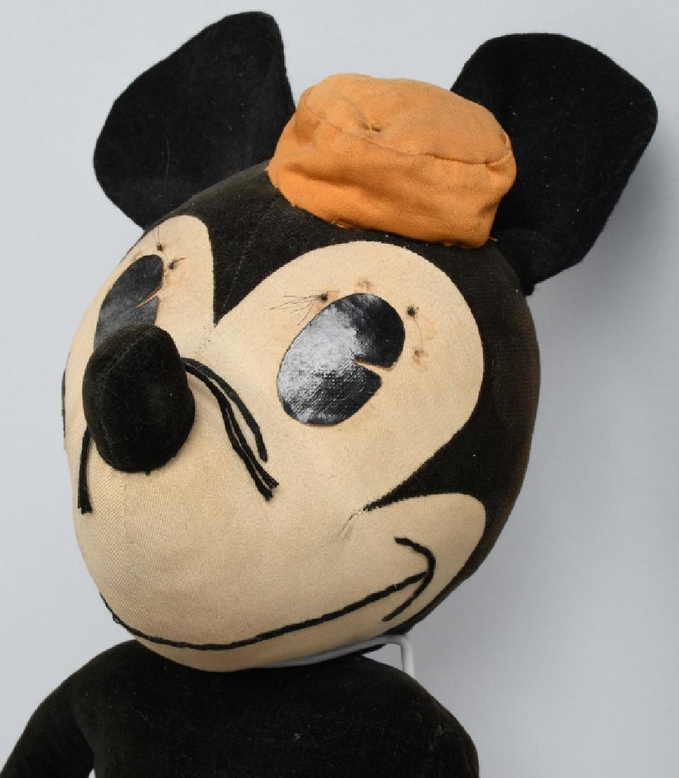 1930'S CHARLOTTE CLARK LARGE MINNIE MOUSE DOLL - 3