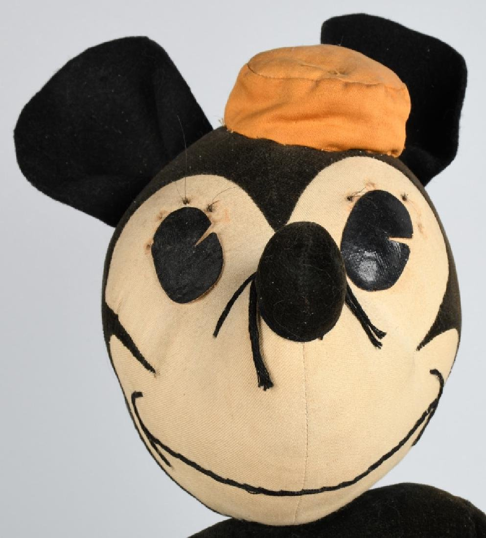 1930'S CHARLOTTE CLARK LARGE MINNIE MOUSE DOLL - 5
