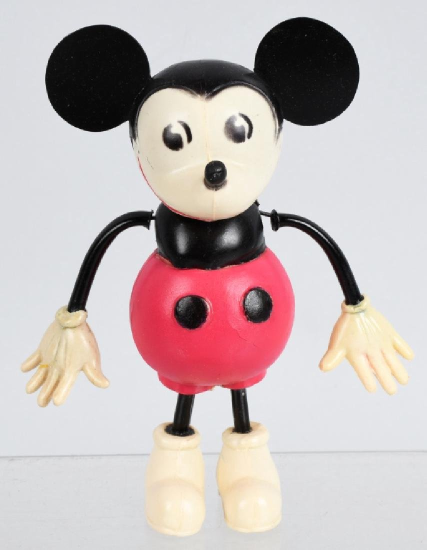 GERMAN CELLULOID WINDUP MICKEY MOUSE