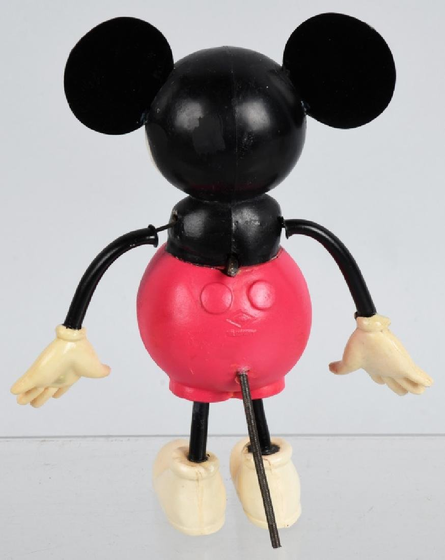 GERMAN CELLULOID WINDUP MICKEY MOUSE - 3