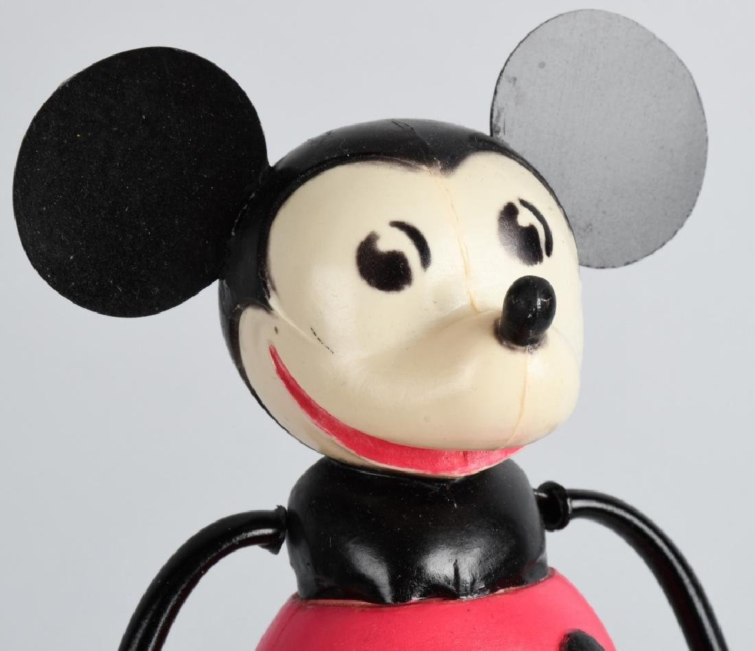GERMAN CELLULOID WINDUP MICKEY MOUSE - 5