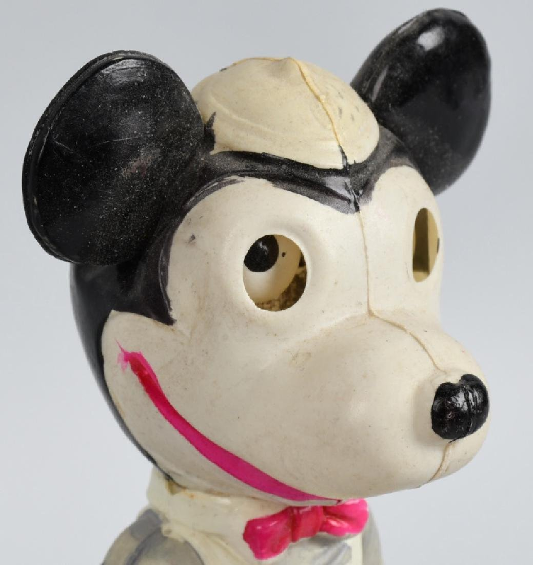 JAPAN Celluloid MICKEY MOUSE WITH MOVING EYES - 2