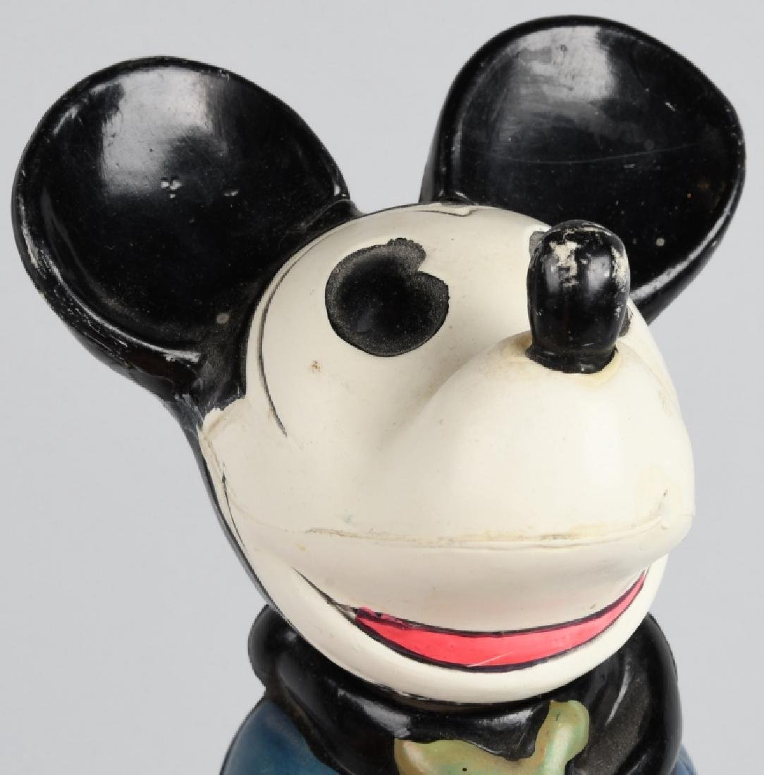 JAPAN CELLULOID SQUATTING MICKEY w/ MOVING HEAD - 5
