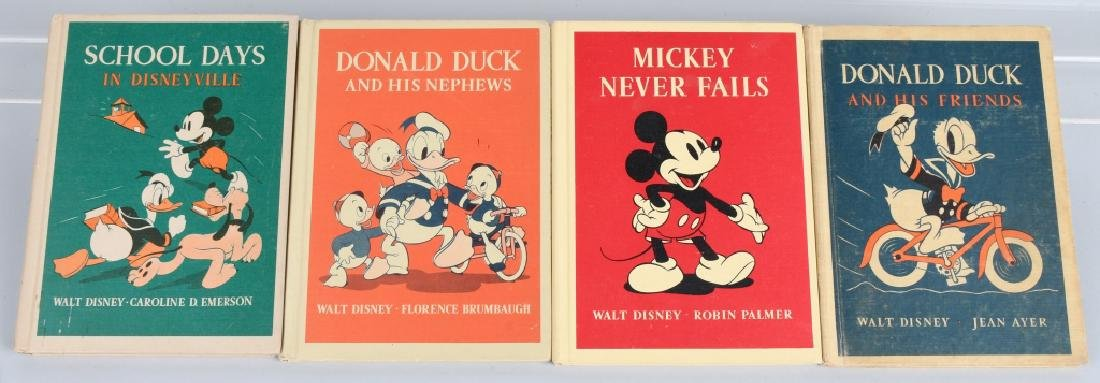 4-1930's HEATH DISNEY CHARACTER BOOKS