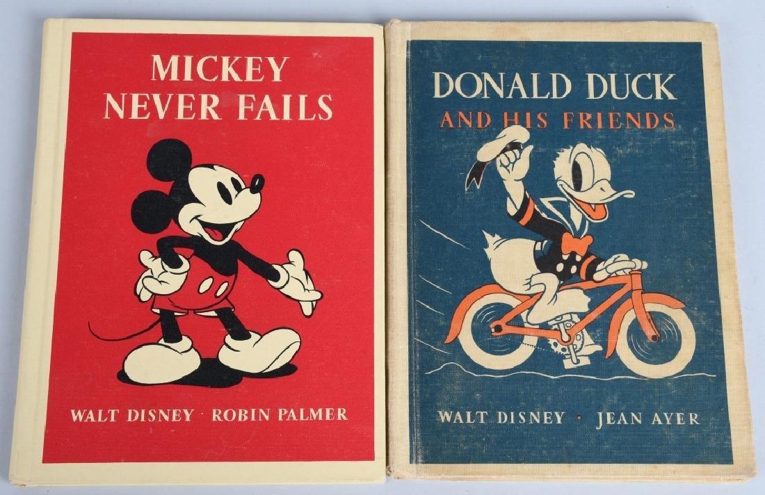 4-1930's HEATH DISNEY CHARACTER BOOKS - 2