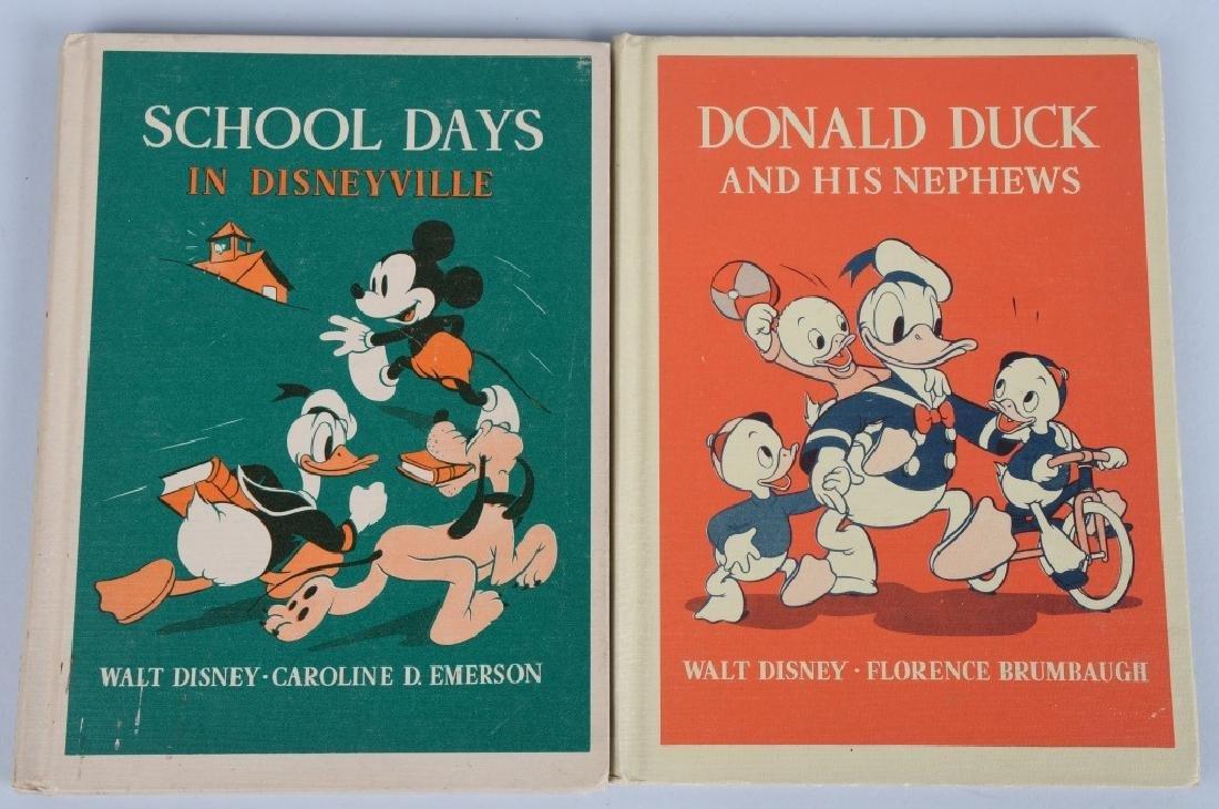4-1930's HEATH DISNEY CHARACTER BOOKS - 4