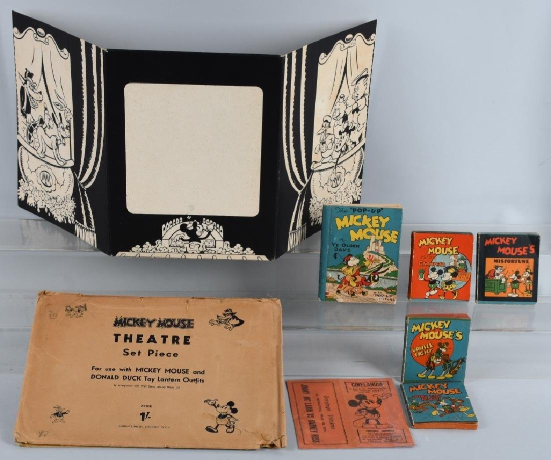 1930'S WDE MICKEY MOUSE LOT