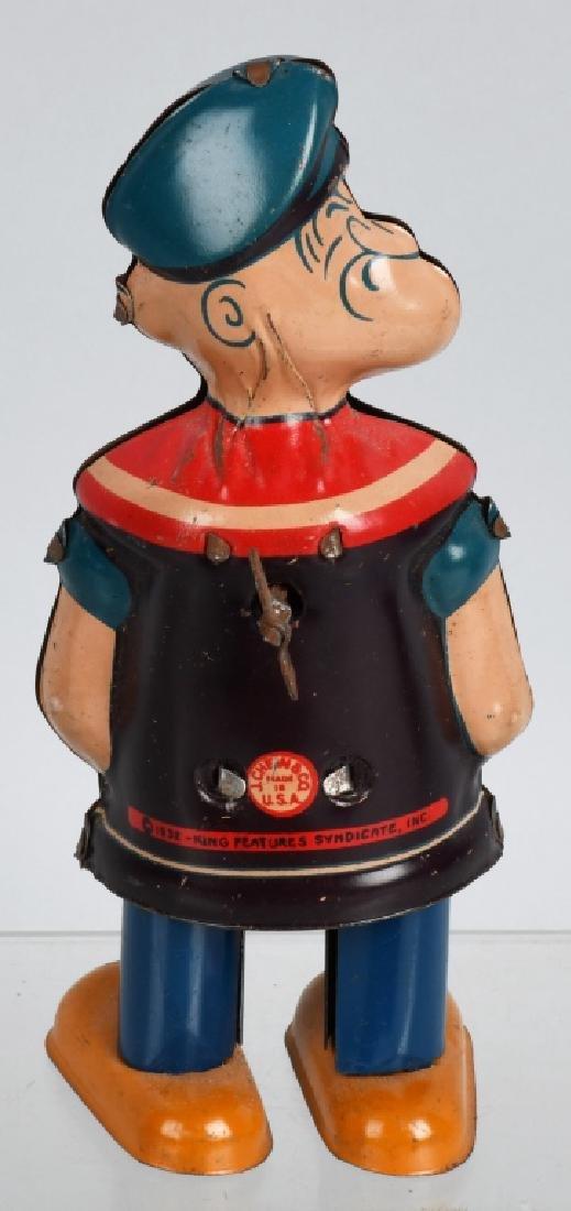 CHEIN Tin Windup POPEYE WADDLER w/ BOX - 3