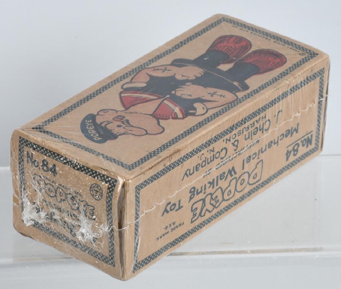 CHEIN Tin Windup POPEYE WADDLER w/ BOX - 6