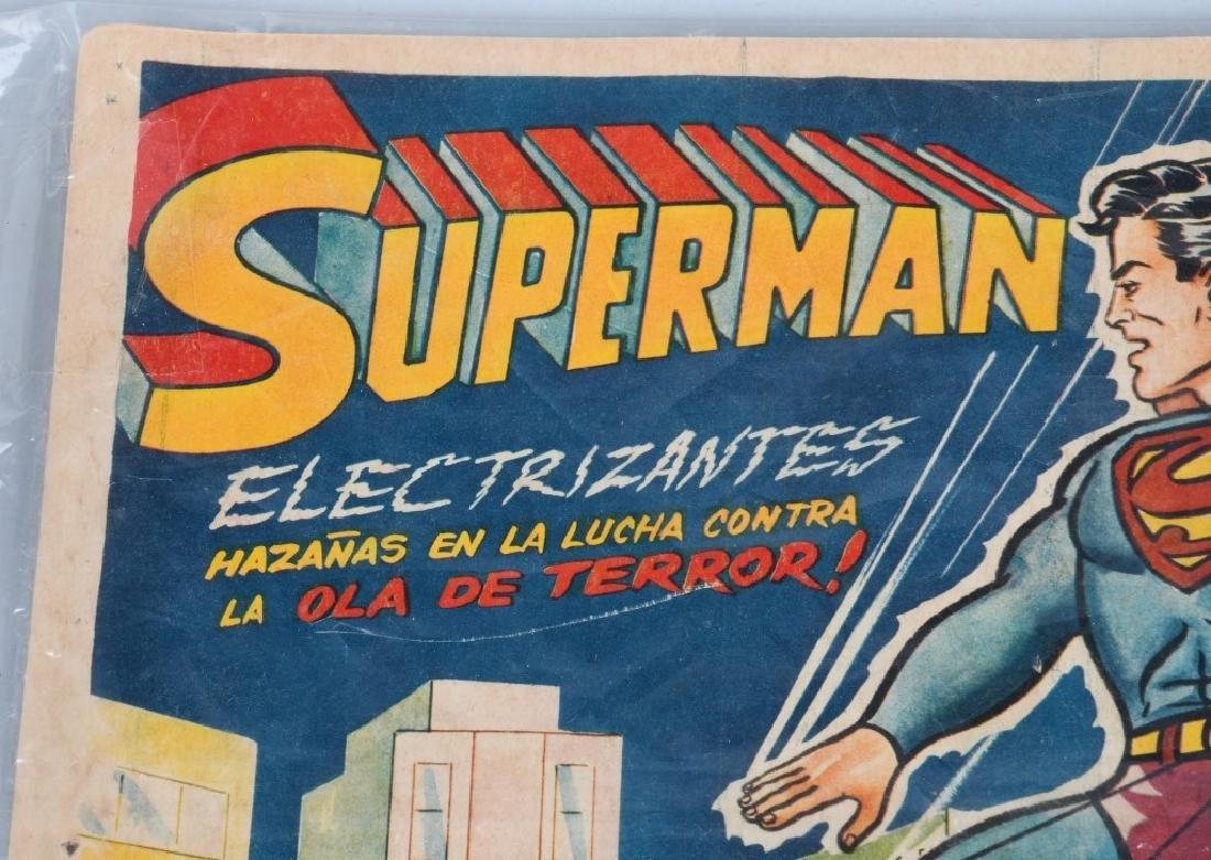 VINTAGE SUPERMAN COLOR MOVIE LOBBY CARD - 2