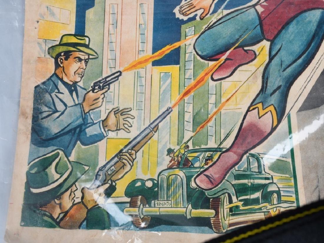 VINTAGE SUPERMAN COLOR MOVIE LOBBY CARD - 3