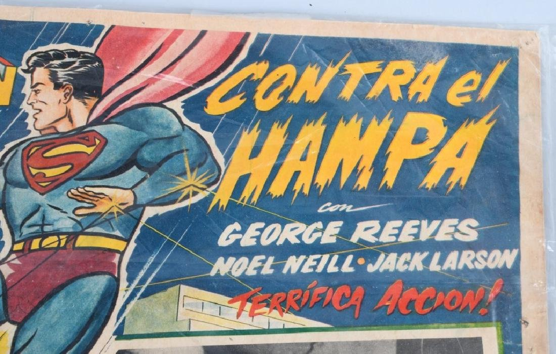 VINTAGE SUPERMAN COLOR MOVIE LOBBY CARD - 5