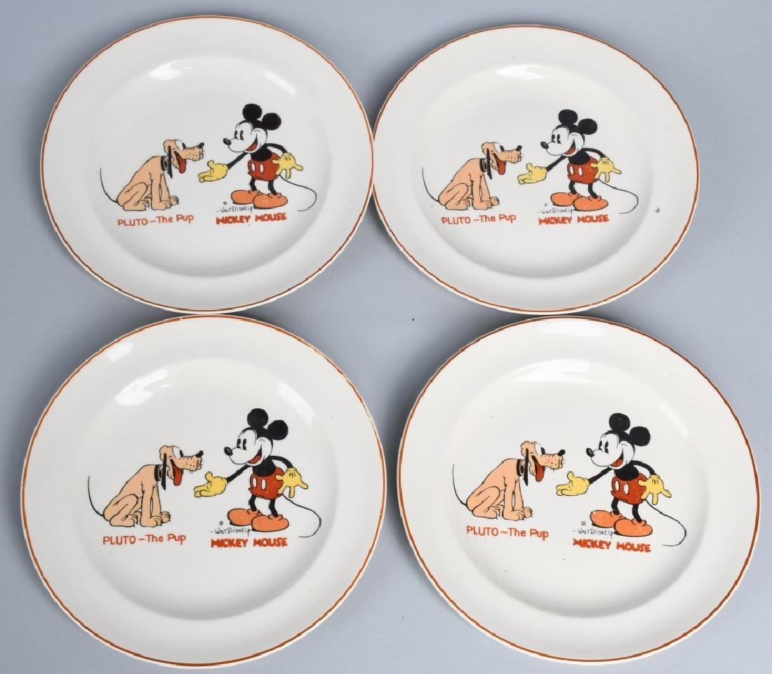 1930'S MICKEY MOUSE & PLUTO CHINA & MORE - 4