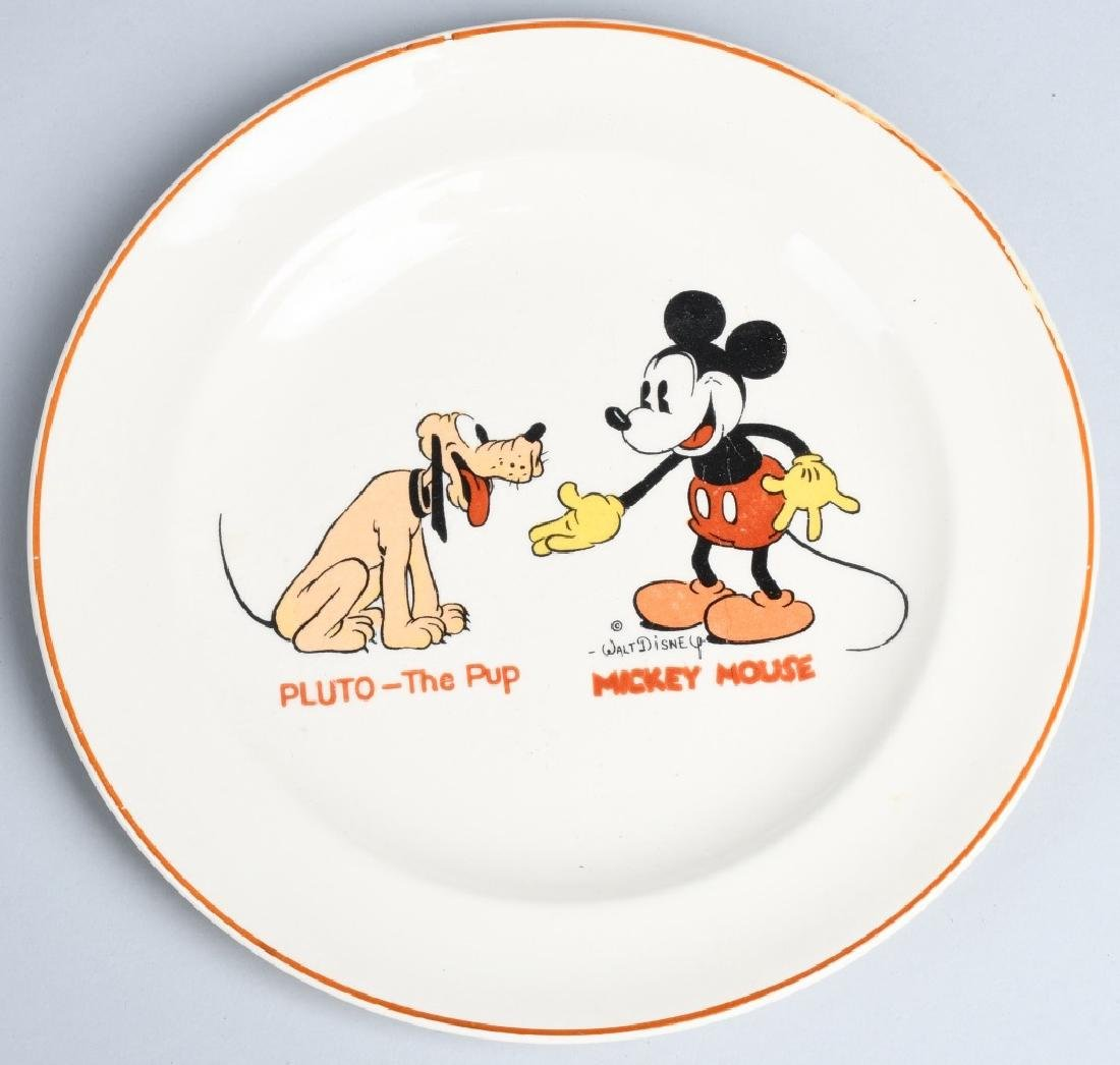1930'S MICKEY MOUSE & PLUTO CHINA & MORE - 5