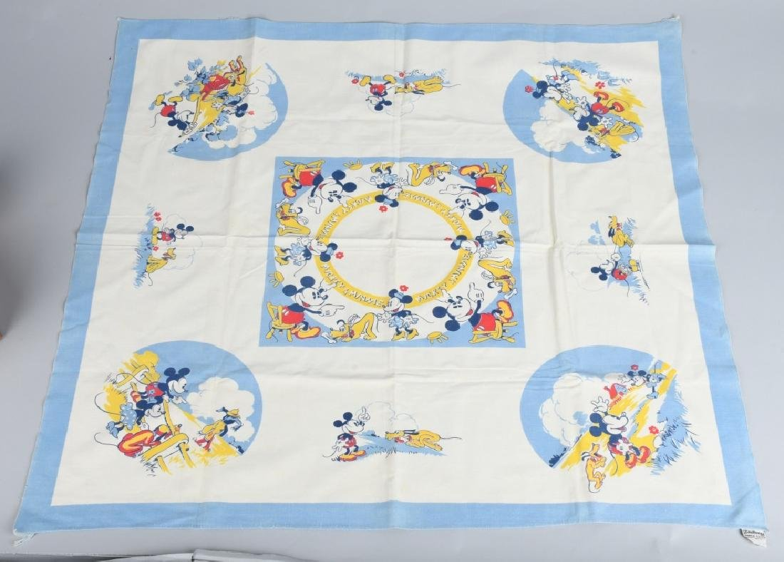 1930'S MICKEY MOUSE & PLUTO CHINA & MORE - 8