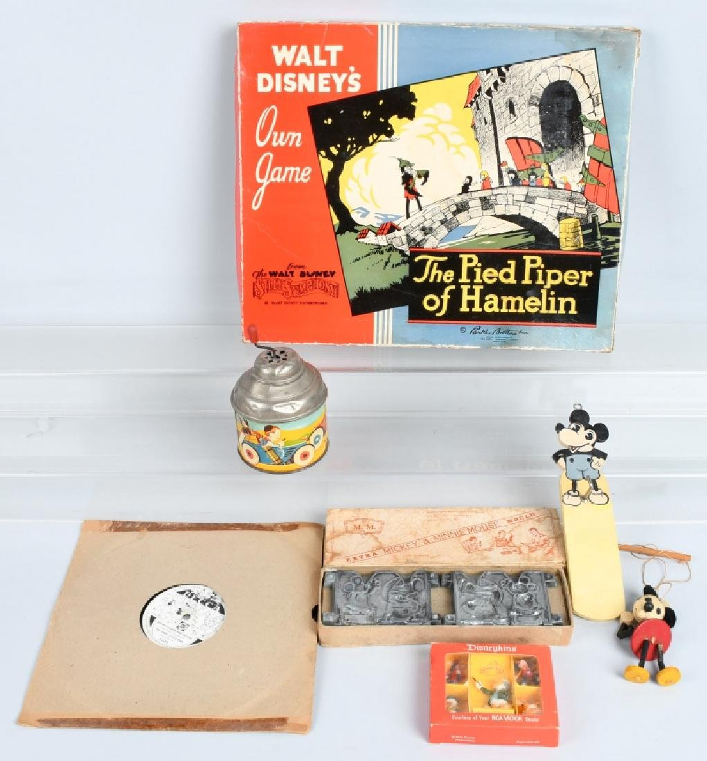 VINTAGE DISNEY TOY LOT, LEAD MOLDS and MORE