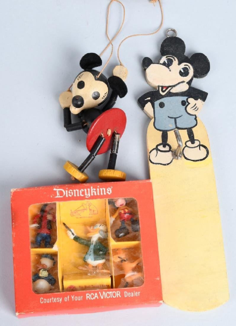 VINTAGE DISNEY TOY LOT, LEAD MOLDS and MORE - 6