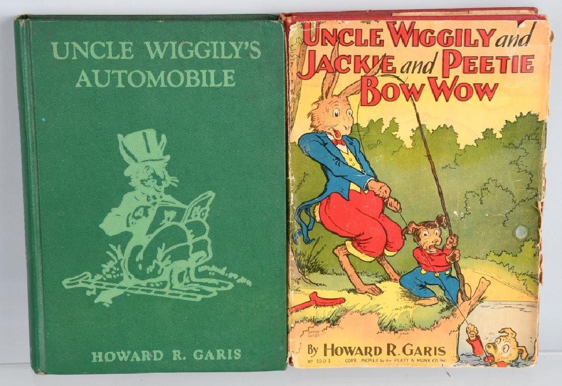11-VINTAGE UNCLE WIGGLY BOOK LOT - 2