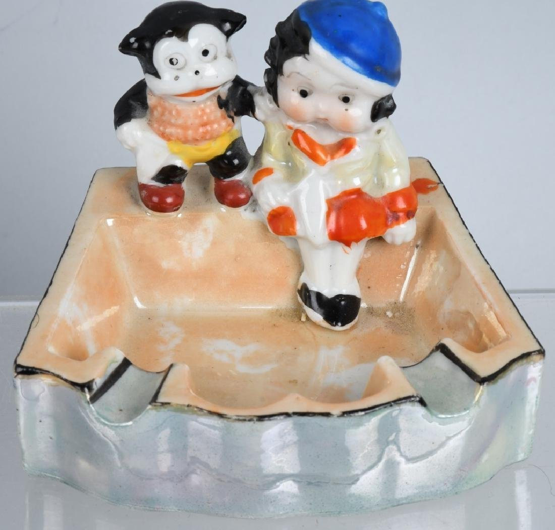 4-BETTY BOOP & BIMBO CERAMIC FIGURES - 3