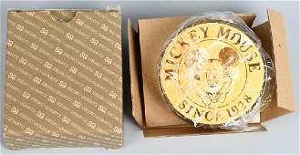 VINTAGE SEIKO MICKEY MOUSE CLOCK MIB
