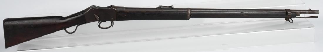 1875 ENFIELD MK II, MARTINI ACTION, 2 BAND RIFLE