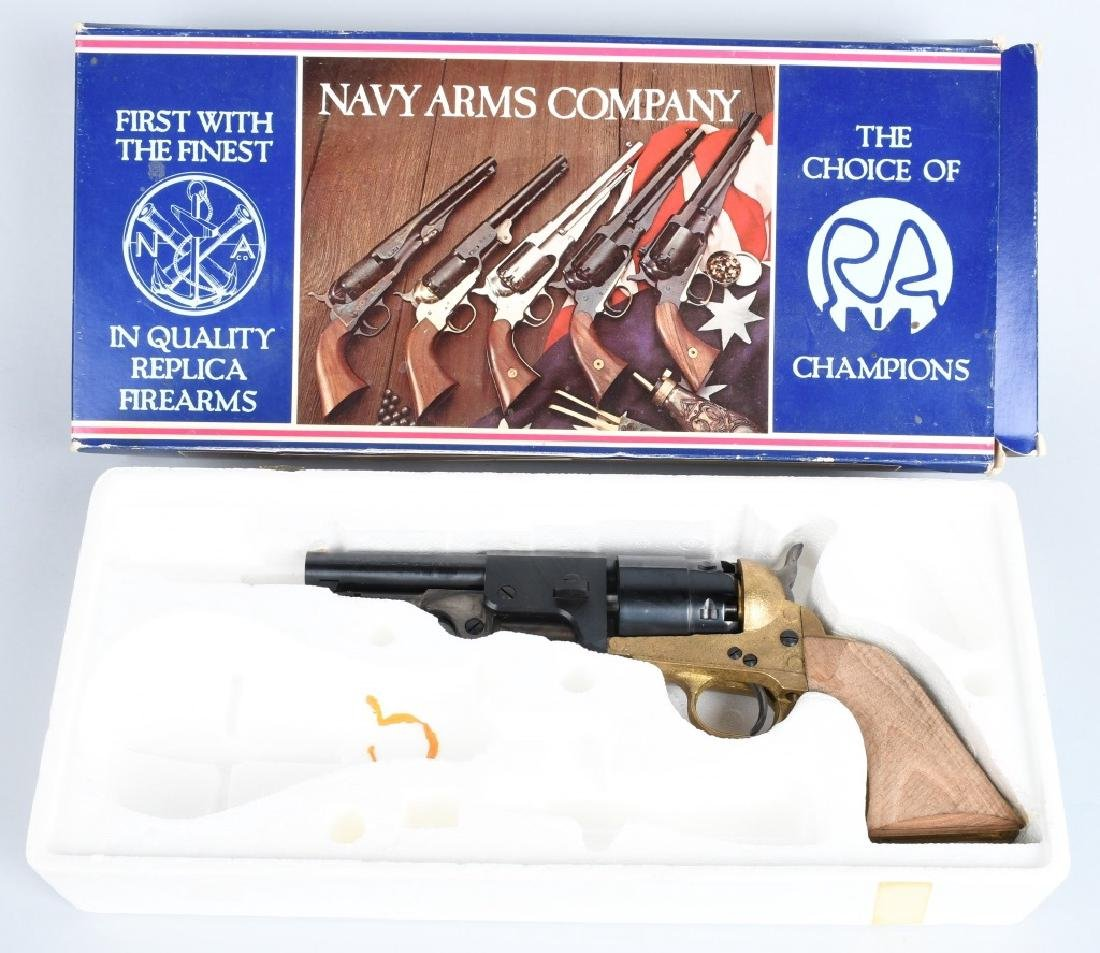 NAVY ARMS REB MODEL 60,  44 REVOLVER BOXED KIT