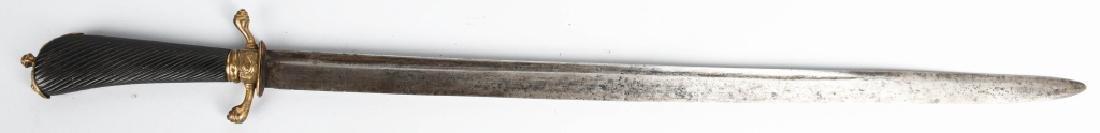 18TH CENTURY GERMAN HUNTING SWORD