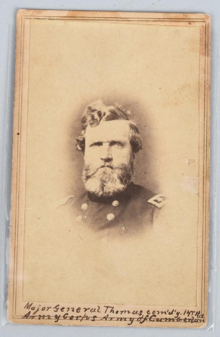 CIVIL WAR CDV MAJOR GENERAL GEORGE THOMAS