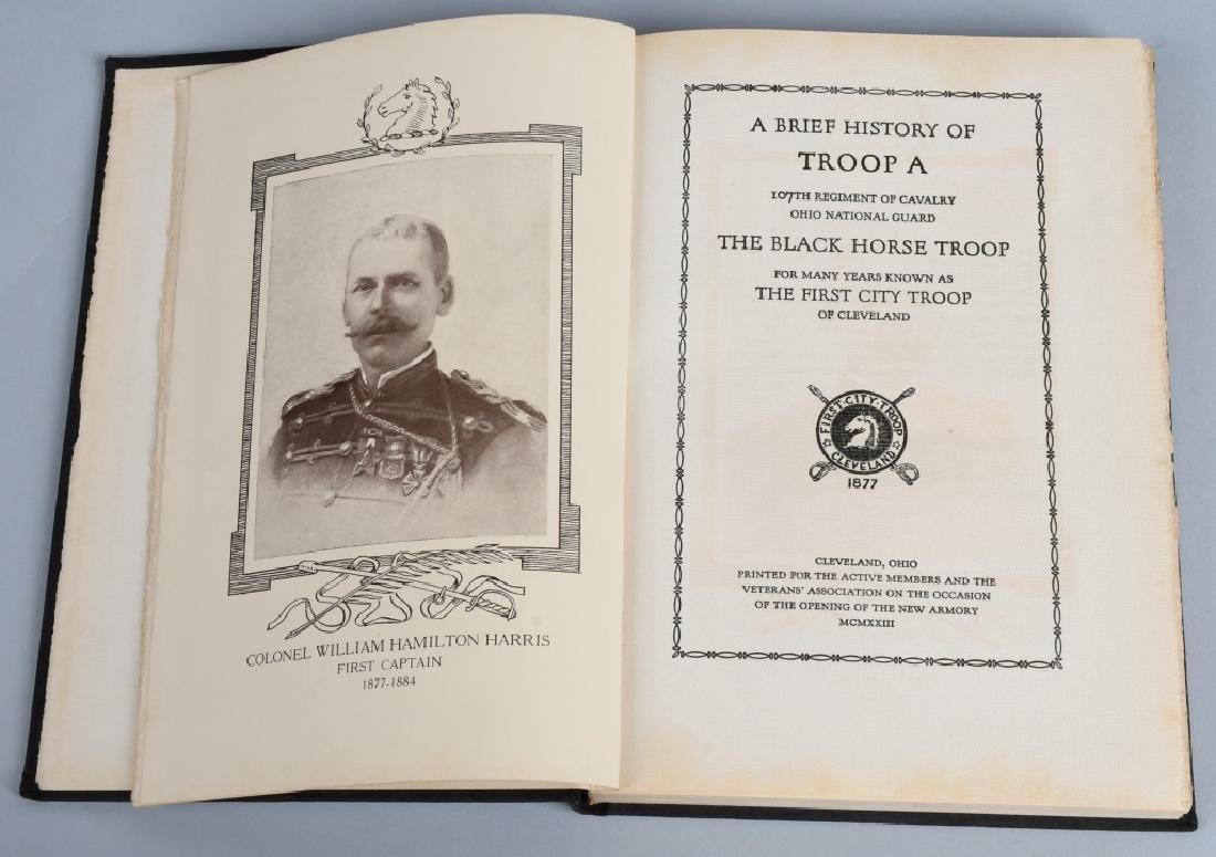 HISTORY - TROOP A 107TH CAVALRY OHIO NATL GUARD