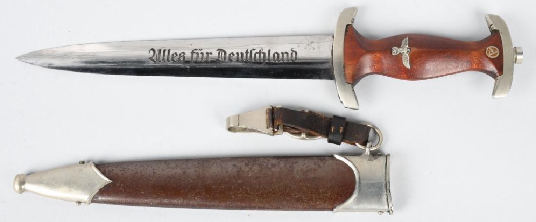 WWII NAZI GERMAN SA DAGGER BY MALCH & AMBRONN