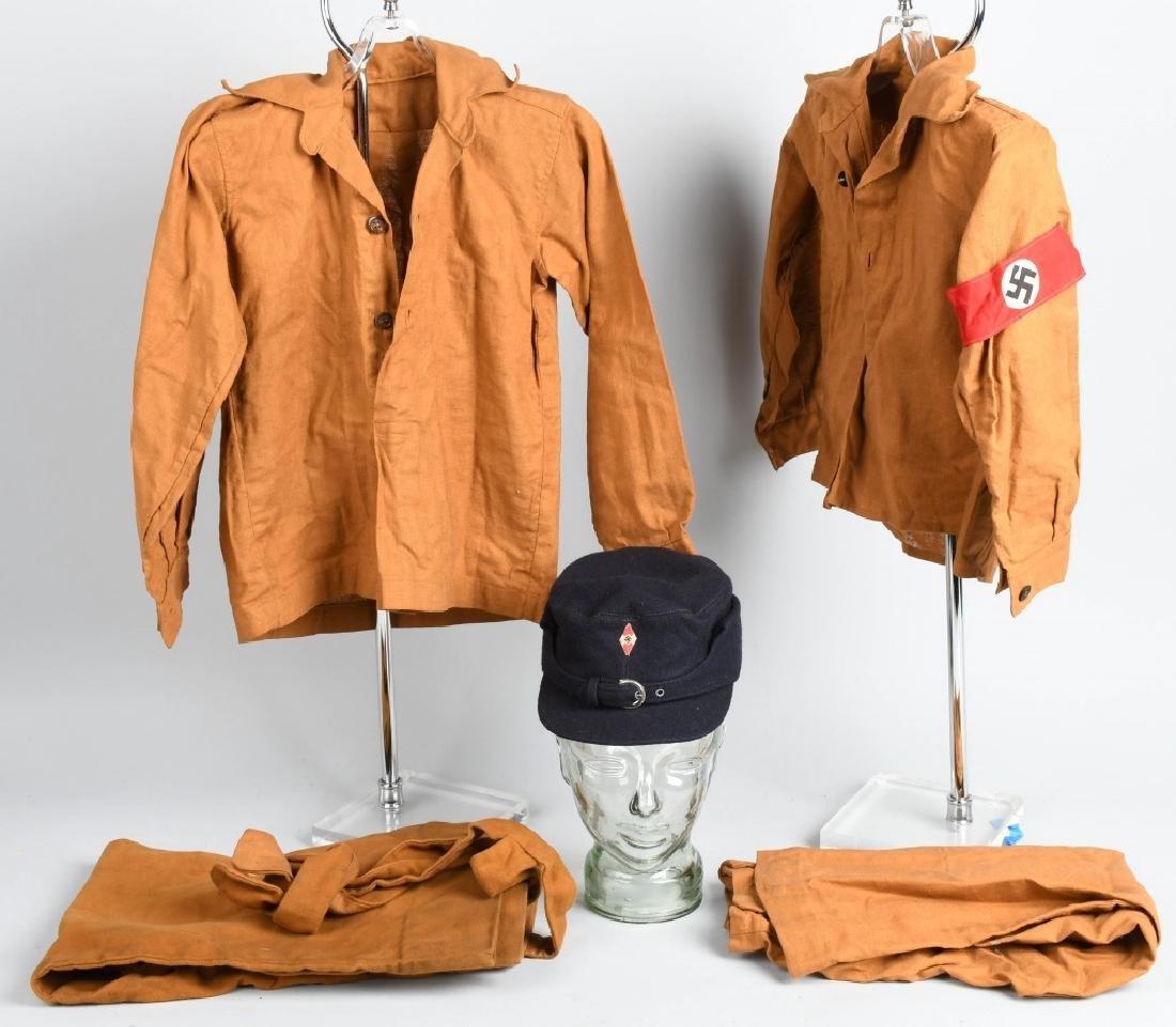 WWII NAZI GERMAN HITLER YOUTH / DJ UNIFORM GROUP