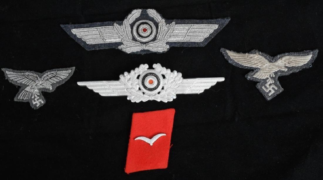WWII NAZI GERMAN LUFTWAFFE INSIGNIA LOT