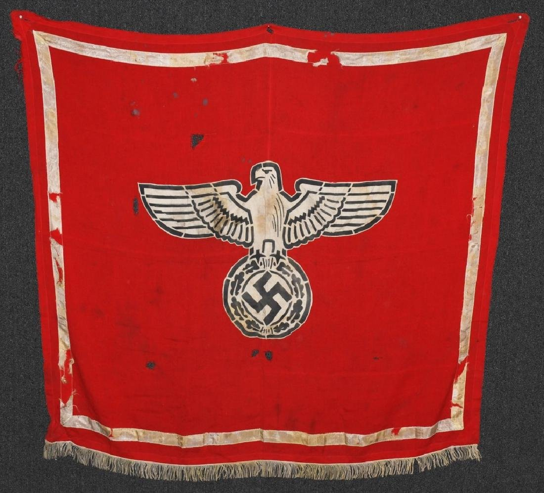 WWII NAZI GERMAN EARLY PARTY FLAG