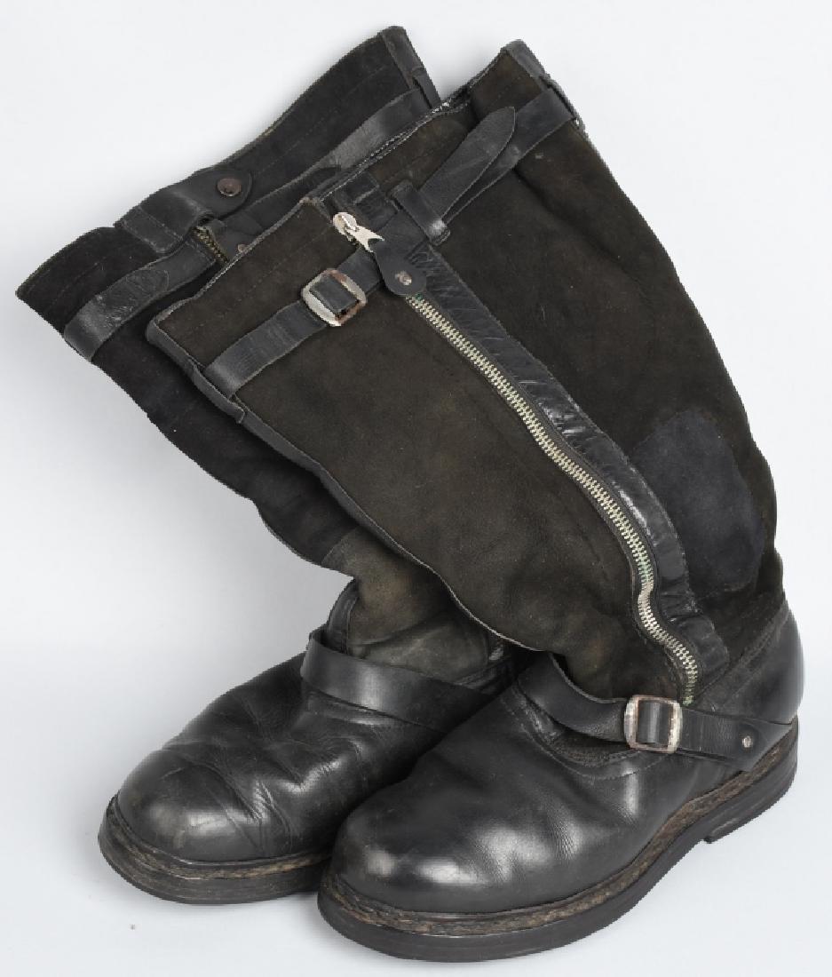 WWII NAZI GERMAN LUFTWAFFE PST 4004 FLIGHT BOOTS