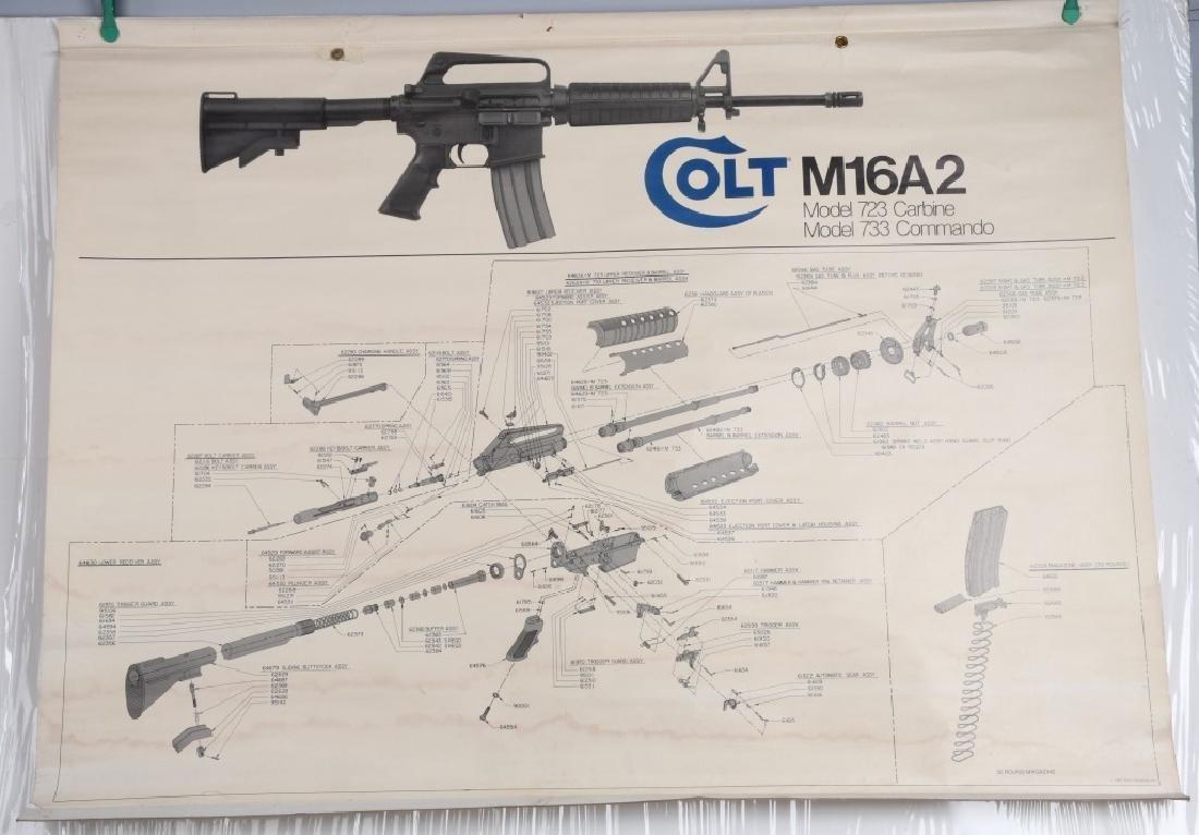 COLT M16A2 MODEL 723-733 TRAINING BANNER