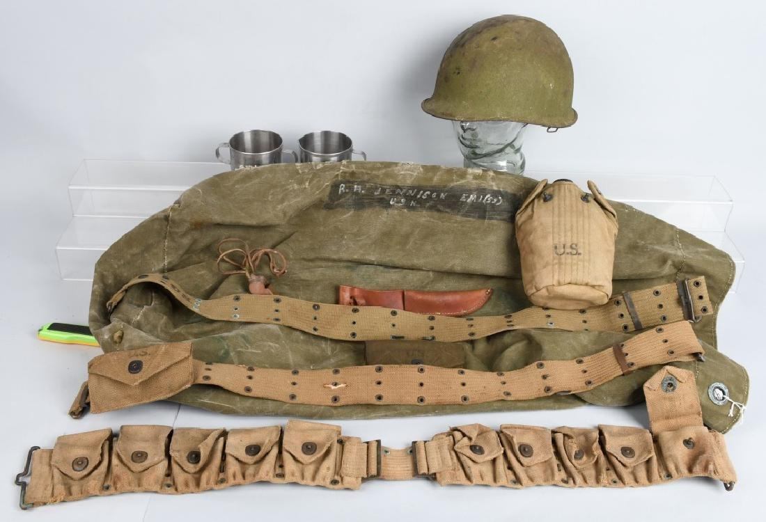 WWII UNITED STATES ARMY MISCELLANEOUS EQUIPMENT