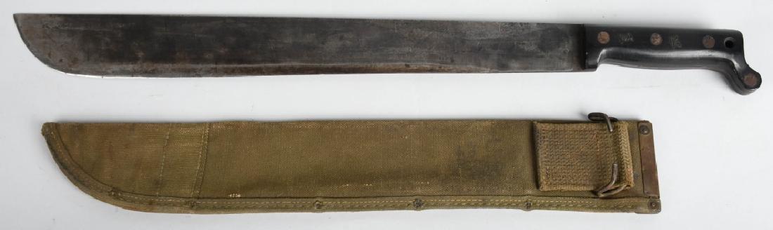 WWII UNITED STATES M 42 MACHETTE - ONTARIO KNIFE