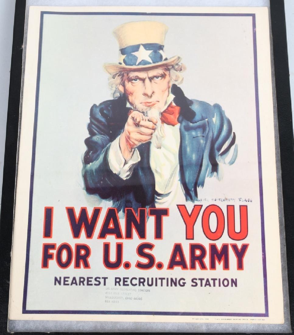 "VIETNAM WAR 1968 ""I WANT YOU.."" RECRUITING POSTER"