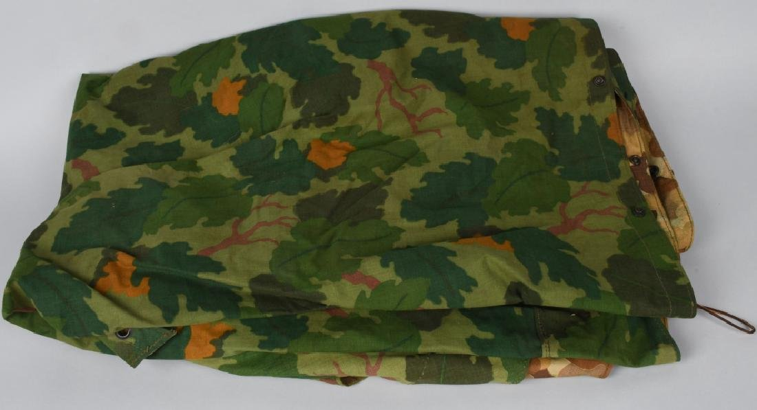 KOREAN WAR U.S.M.C CAMOUFLAGE SHELTER HALF