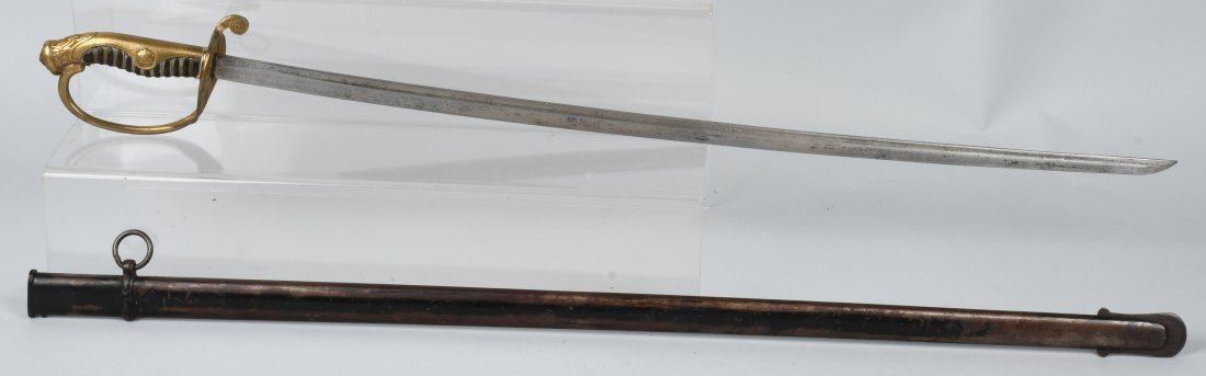 WWII JAPANESE ARMY OFFICER'S SWORD & SCABBARD