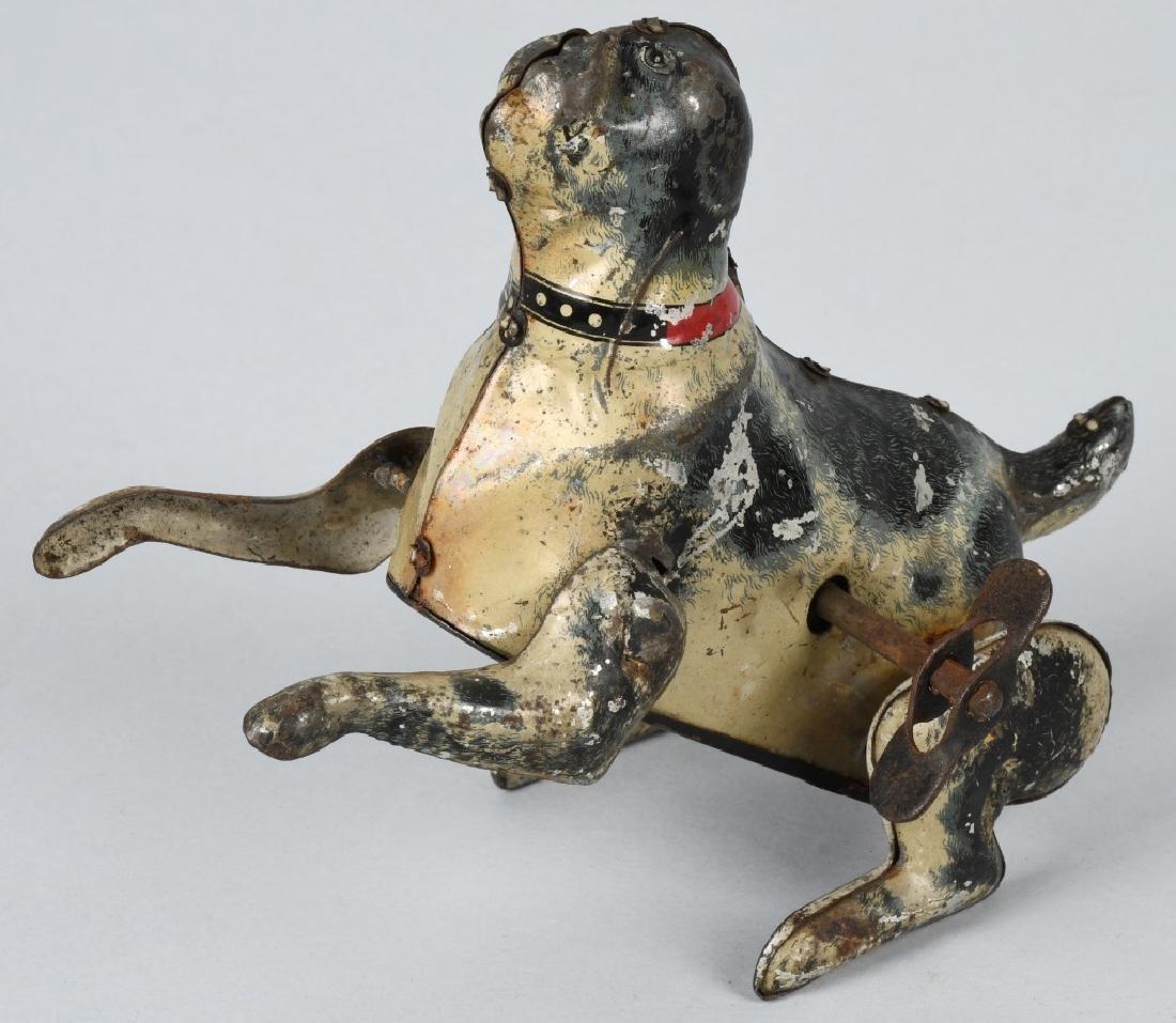 GUNTHERMANN Tin Windup FLIPPING DOG