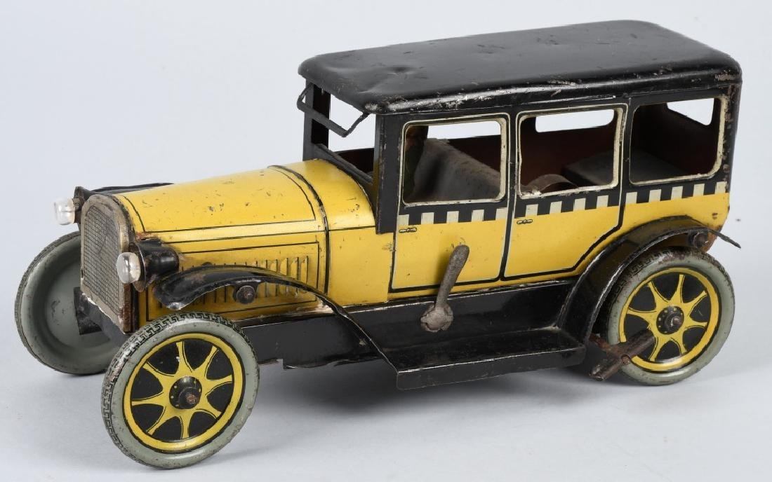 GERMAN 1920'S KARL BUB ELECTRIC LIGHT TAXI CAB
