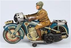 GERMAN ARNOLD TIN WINDUP MOTORCYCLE