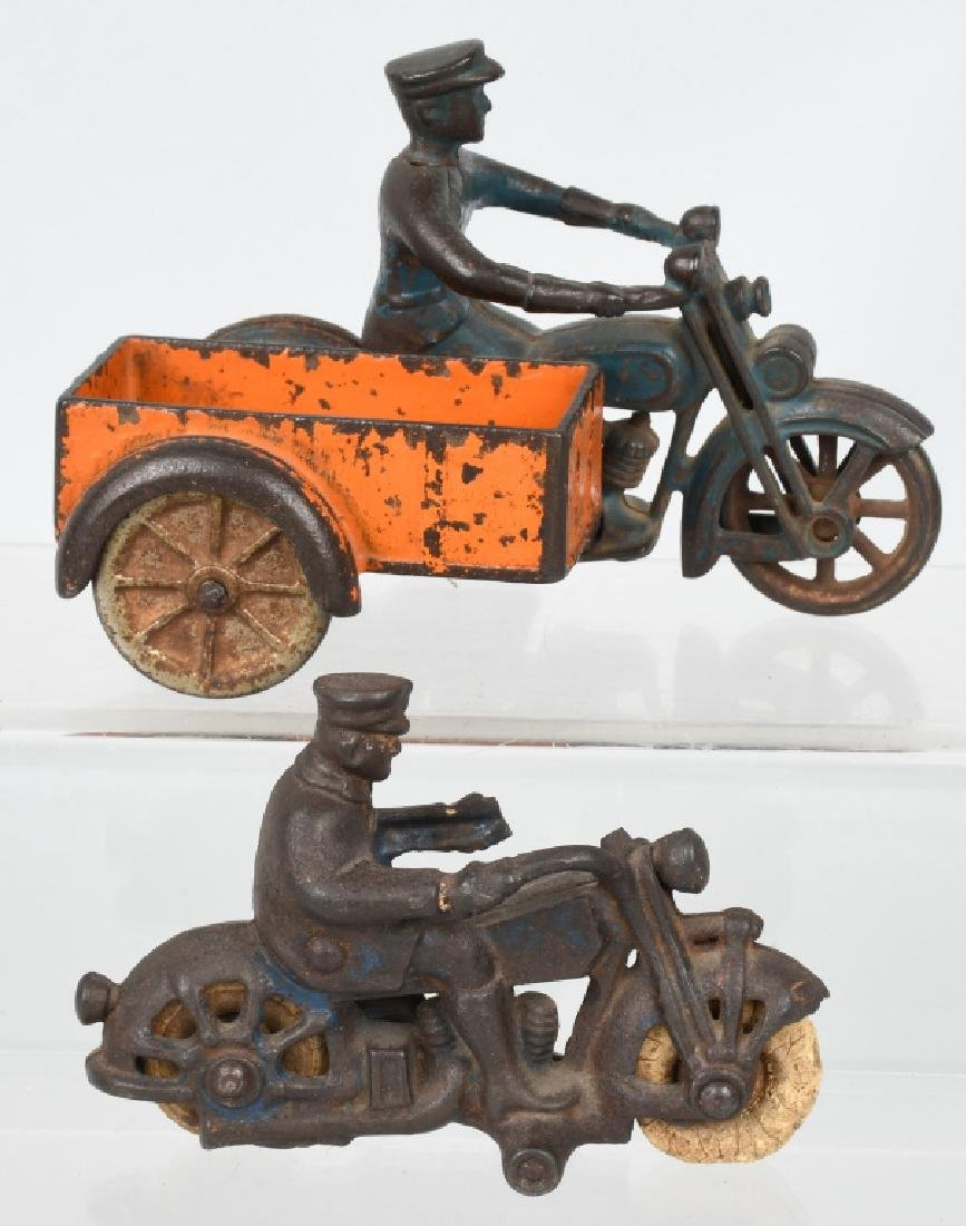 KILGORE CAST IRON DELIVERY MOTORCYCLE & MORE