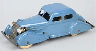 WYANDOTTE 1930'S ROOSTER COMB SEDAN