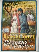 1915 THE WARRENS of VIRGINIA MOVIE POSTER