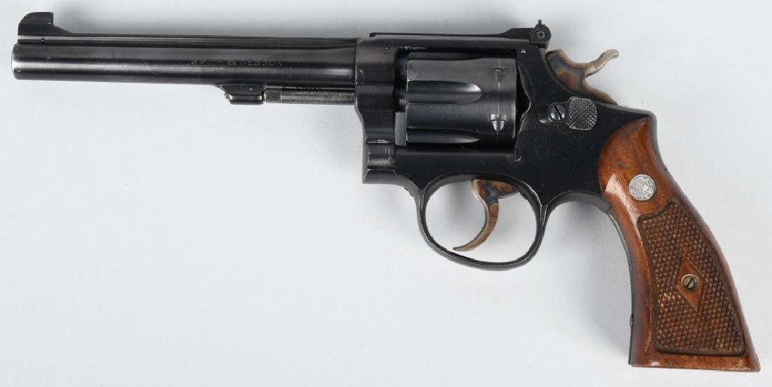 SMITH & WESSON K MODEL, 22 REVOLVER K22