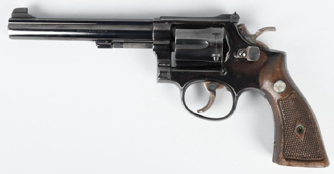 SMITH & WESSON 14-2, .38 REVOLVER COMBAT