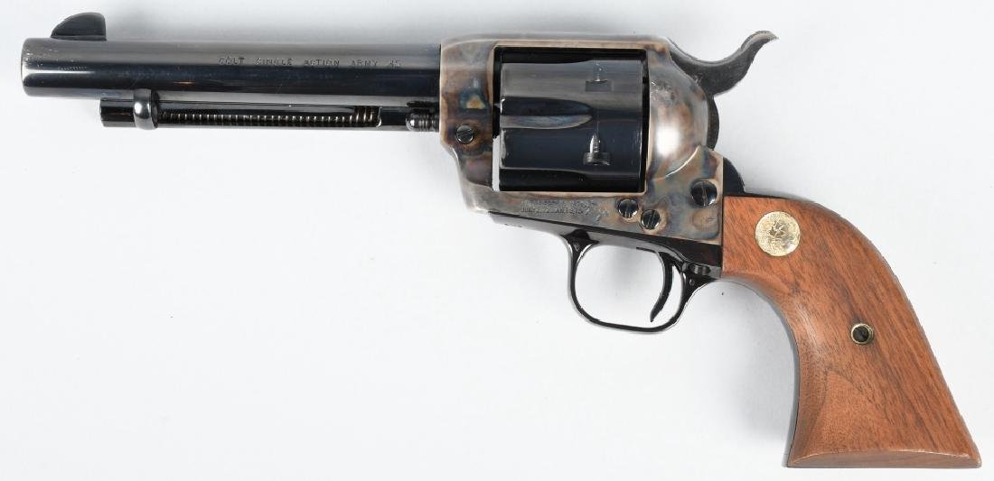 COLT SINGLE ACTION ARMY .45 REVOLVER SA 99%