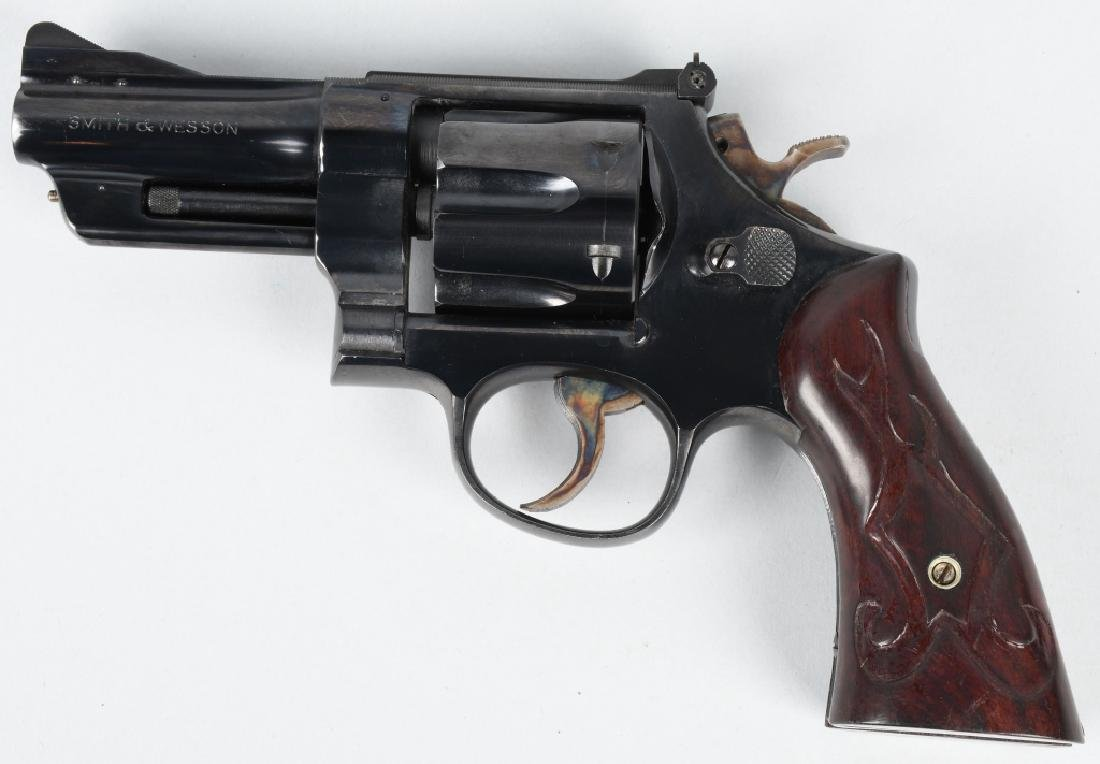 SMITH & WESSON .357 MAGNUM REVOLVER